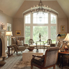 traditional living room by Bruce Kading Interior Design