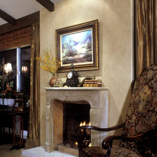 Traditional Living Room by frank pitman designs