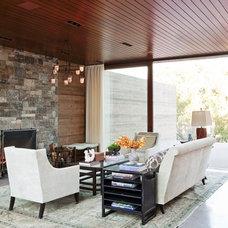 Contemporary Living Room by Mark J Williams Design