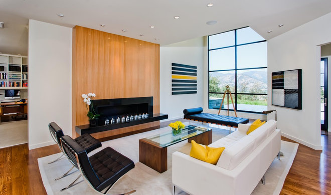 Contemporary Living Room by Strening Architects
