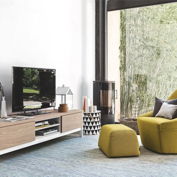 Calligaris Alma Chair and Factory Sideboard