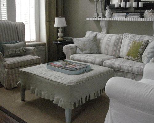 Linen Slipcover Home Design Ideas Renovations Amp Photos