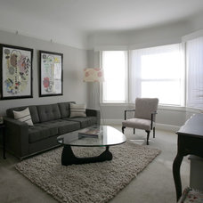 Modern Living Room by Mint Home Decor