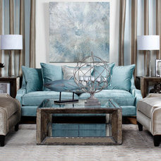 traditional living room by Z Gallerie