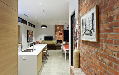 Houzz Tour: Historic Home Meets Contemporary Open-Plan Living