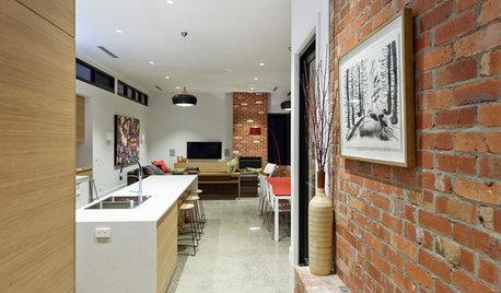 Houzz Tour: Historic Home Meets Contemporary Open-Plan Living