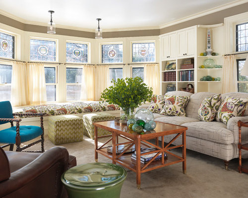 Bay Window Cafe Curtains Ideas, Pictures, Remodel and Decor