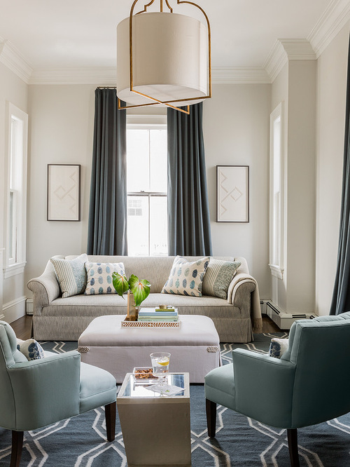 Aqua Curtains Houzz