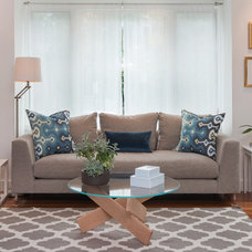 Contemporary Living Room by Pinney Designs