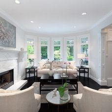 Traditional Living Room by Erica Winterfield Design