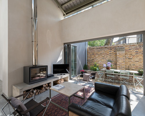 Contemporary Wood Burning Stoves - Contemporary Wood Burning Stoves Houzz