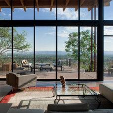 Contemporary Living Room by Stonecreek Building Company, Inc.