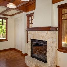 Traditional Living Room by Courtney Jones - Carmel Realty Company