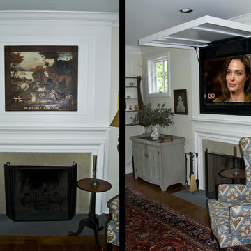 Camouflage the Lid to Blend w/ Your Ceiling!