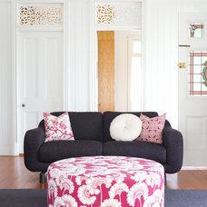 Farmhouse Living Room by K Co Design