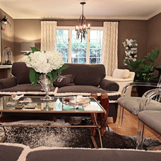 Traditional Living Room by Debbie Basnett, Vintage Scout Interiors