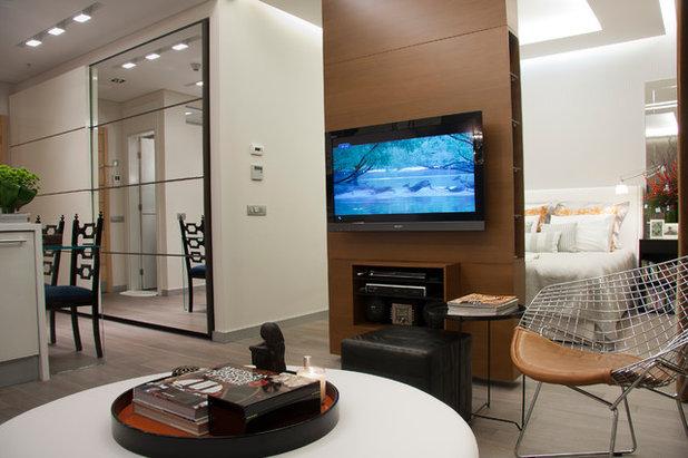 Contemporary Living Room by Elif KINIKOGLU INTERIORS