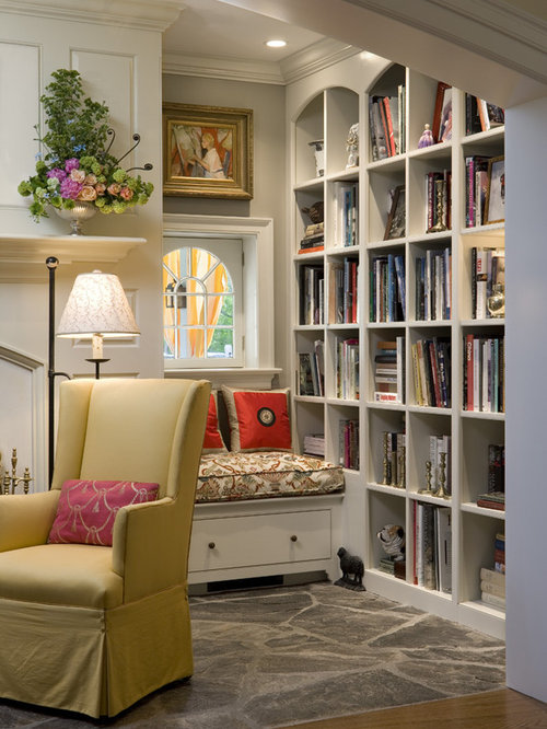 Arched bookcase ideas pictures remodel and decor for Bookshelves ideas living rooms