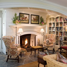 Traditional Living Room by Griffiths Construction, Inc.