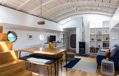 My Houzz: London Houseboat Gets a Stylish Renovation
