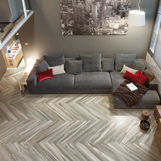 Living Room by CANCOS Tile & Stone
