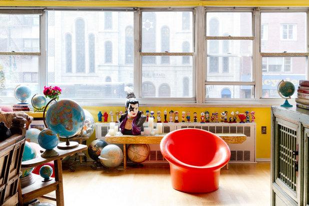 Penthouse loft einrichtung wohnbereich pendelleuchte kochinsel