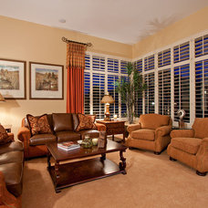Traditional Living Room by Davis Design Group