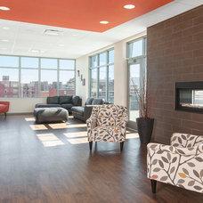 Contemporary Living Room by Kurt Johnson Photography