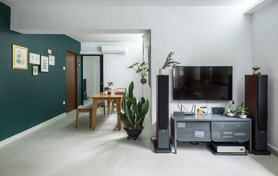 Houzz Tour: Thoughtful Design Sets the Scene for Art in This Flat