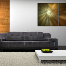 Modern Living Room by Miracle Canvas