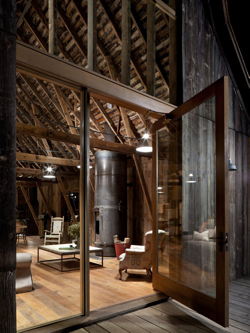 Rustic Industrial Houzz