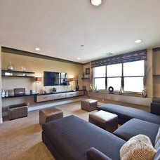 Contemporary Living Room by Design Source Interiors