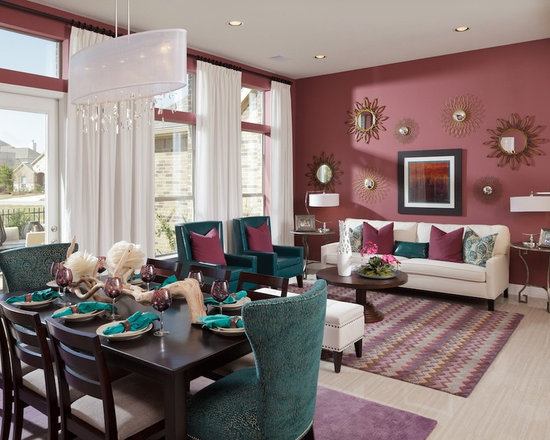 burgundy living room decor Living Room Design Ideas