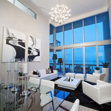 Modern Living Room by EBL Construction
