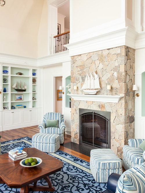 beach style living room design ideas renovations photos. Black Bedroom Furniture Sets. Home Design Ideas