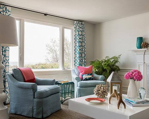 Living Room Curtain Ideas Design Ideas, Remodels & Photos | Houzz