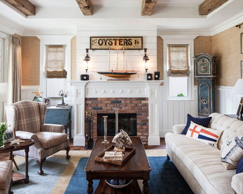 Nautical Living Room Ideas | Houzz