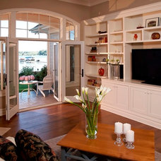 Traditional Living Room by VanBrouck & Associates, Inc.