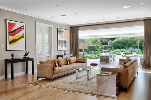 Contemporary Living Room by Interiors by Erik R Galiana