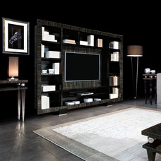 modern bookcases cabinets and computer armoires by Designpass Ltd