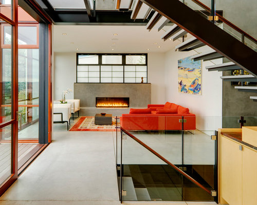 Fireplace Under Window Houzz