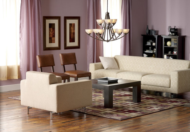 Contemporary Living Room by 1800Lighting
