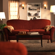 Traditional Living Room by 1800Lighting