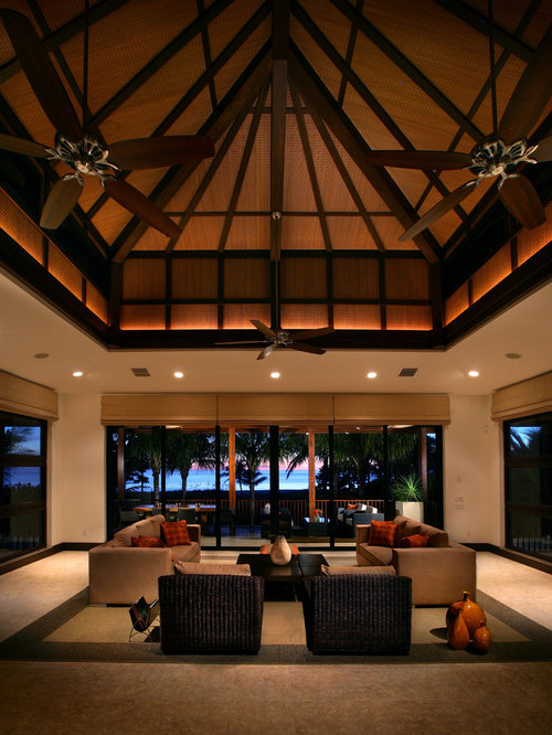 SaveEmail - High Ceiling Living Room Houzz