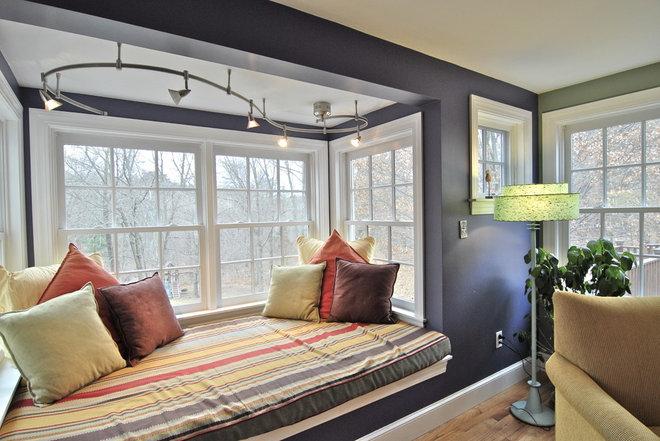 Eclectic Living Room by Brenda Olde
