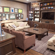 Traditional Living Room by Jolene Smith Interiors