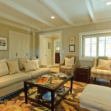 Beach Style Living Room by Regan Baker Design