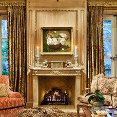 Traditional Living Room by Linda L. Floyd, Inc., Interior Design