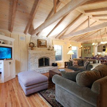 Carmel Cottage Great Room