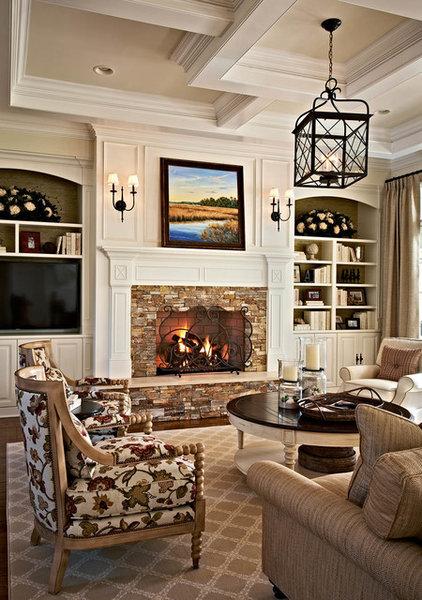 Traditional Living Room by Gerrard Builders